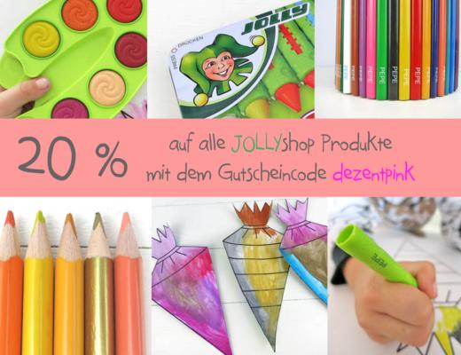 20% Rabatt auf alle JOLLYshop Produkte