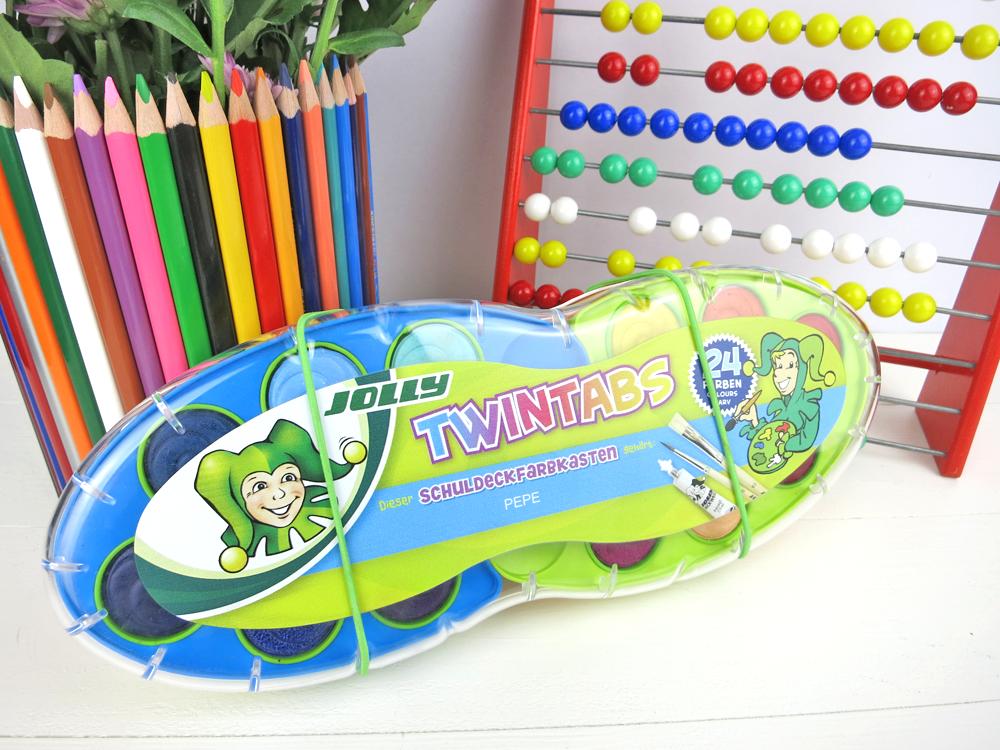Jolly Twintabs Wassermalfarben 4