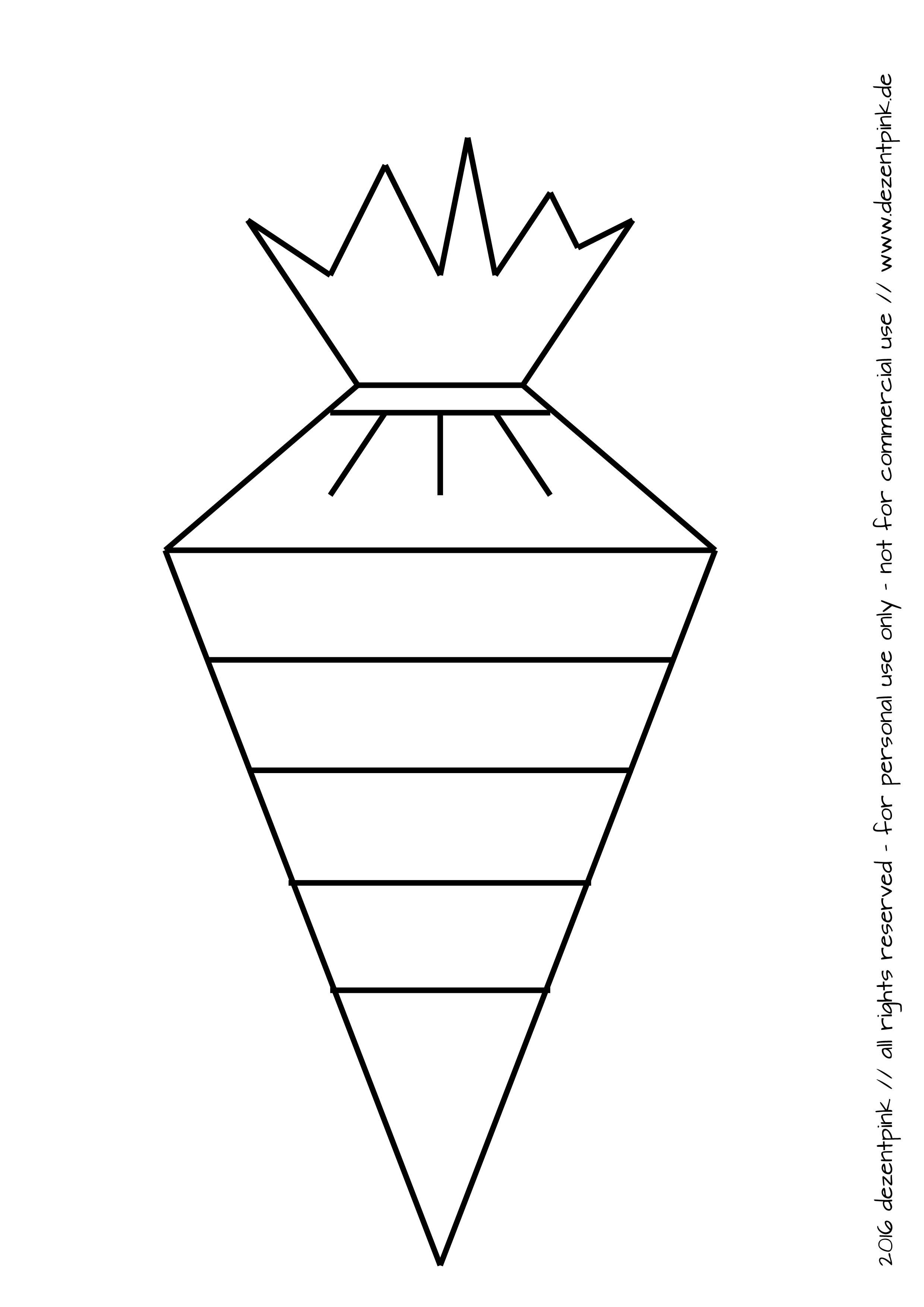 Zwei Schultüten Malvorlagen für Euch. - DEZENTPINK - DIY Ideen für