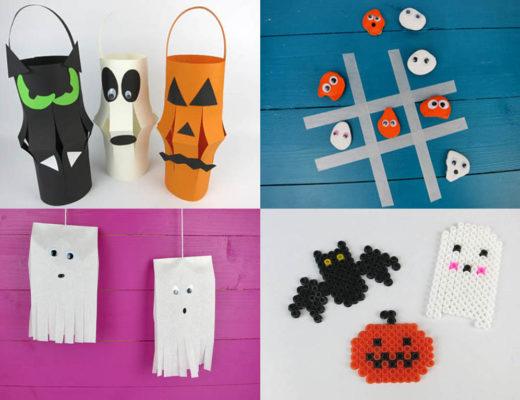 Halloween Bastelideen für Kinder DIY