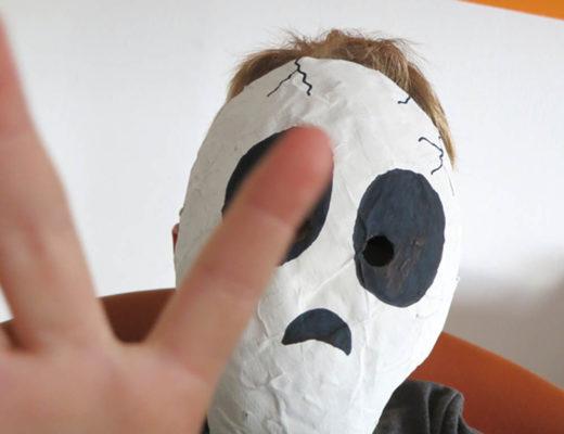 Halloween Pappmaschee Masken