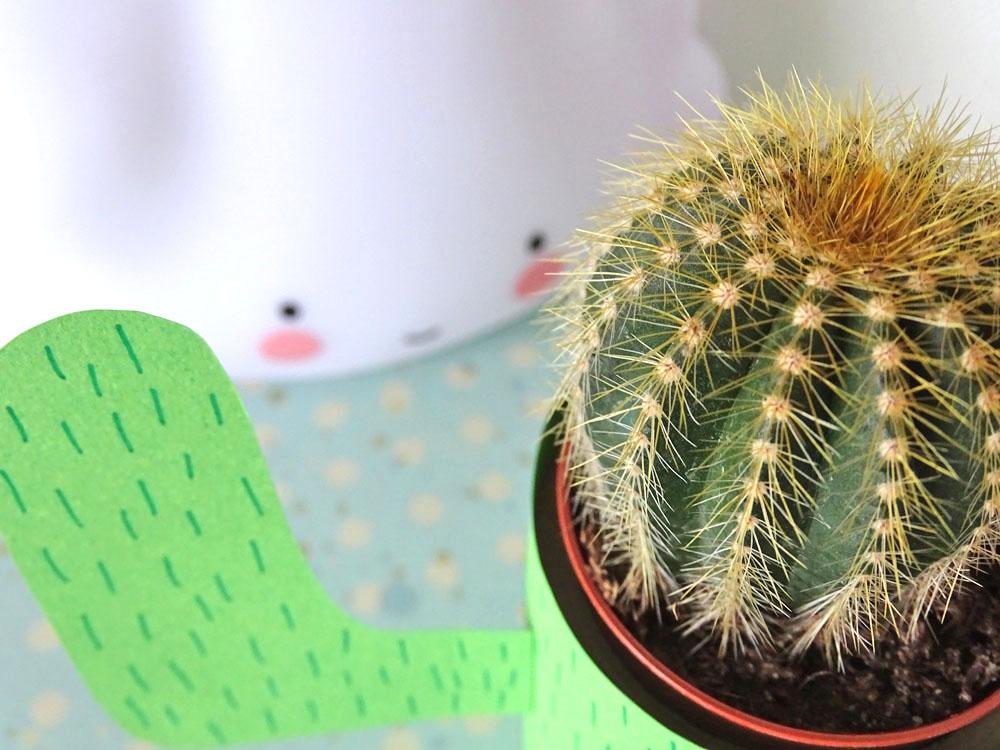 Kaktus Kaktusständer selber basteln DIY
