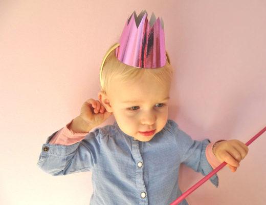 Prinzessinkrone selbermachen