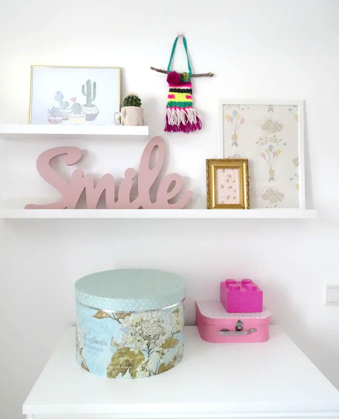 Bilderleiste mit Wandbehang weben DIY