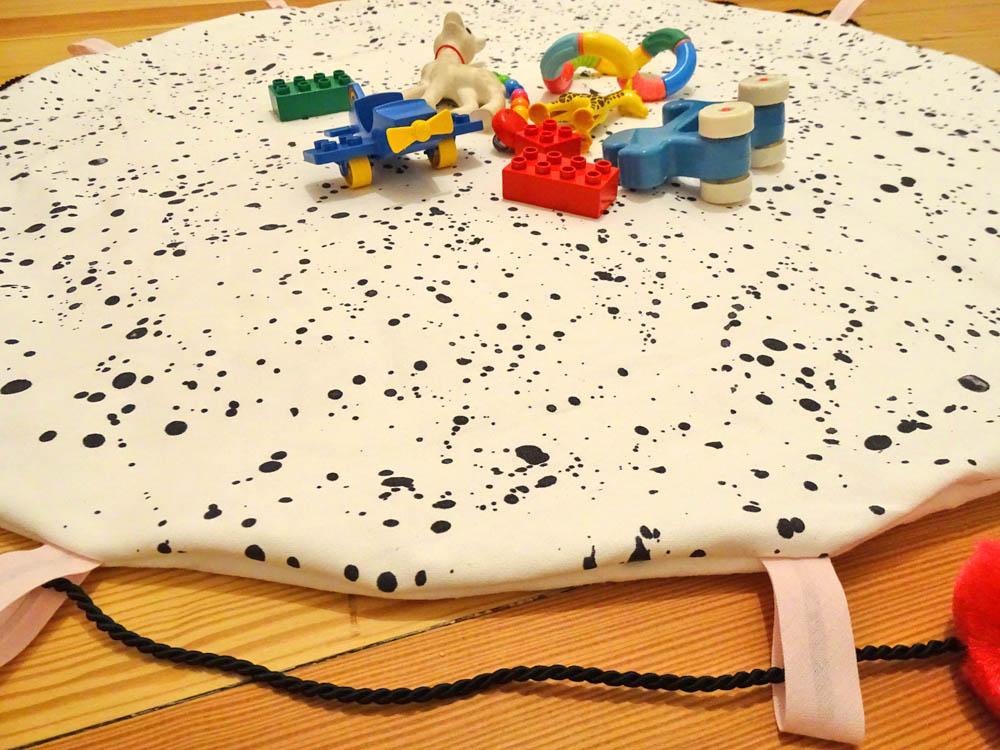 DIY Spielzeugsack playtogo selber nähen