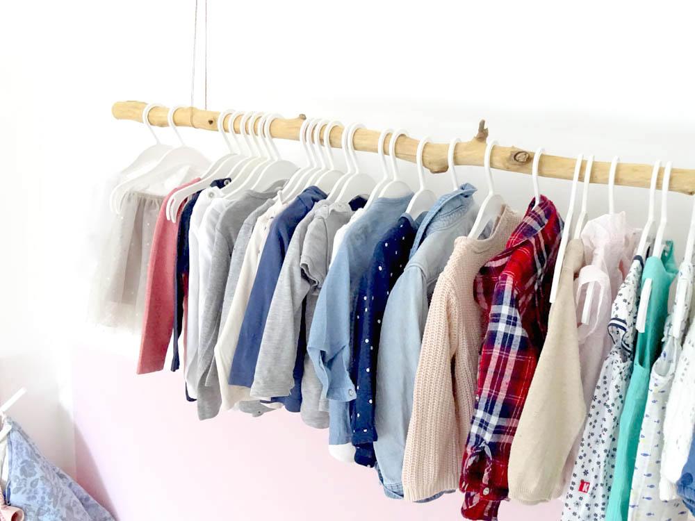 Kleiderstange do it yourself selbst bauen DIY
