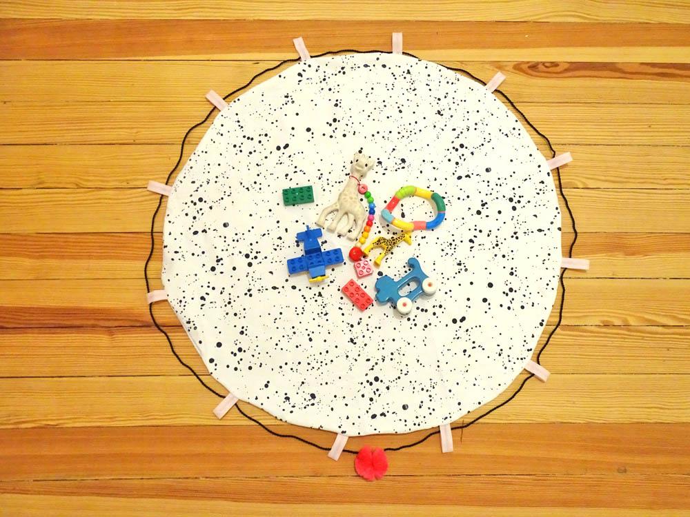 Spielzeugsack playandgo Spielsack Spielteppich DIY