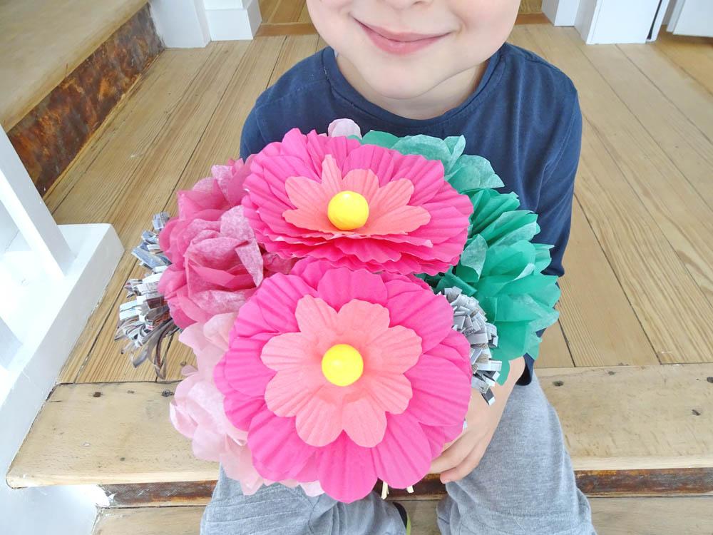 Präferenz Habt ihr Lust Papierblumen zu basteln? - DEZENTPINK - DIY Ideen  VR15