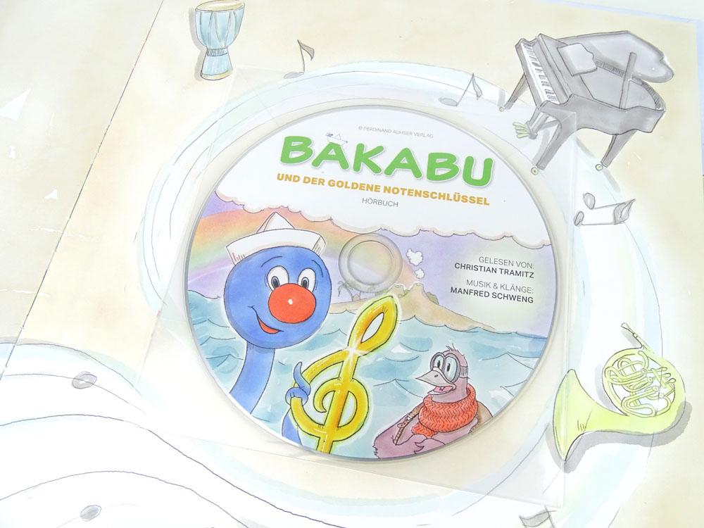Bakabu und der Goldenen Notenschlüssel