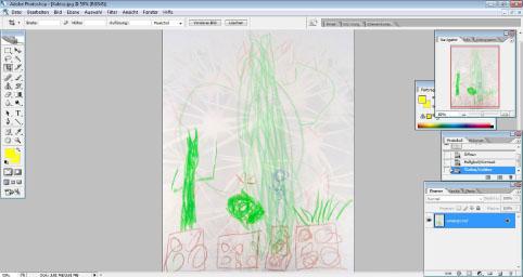Kaktus Wandbild bearbeiten