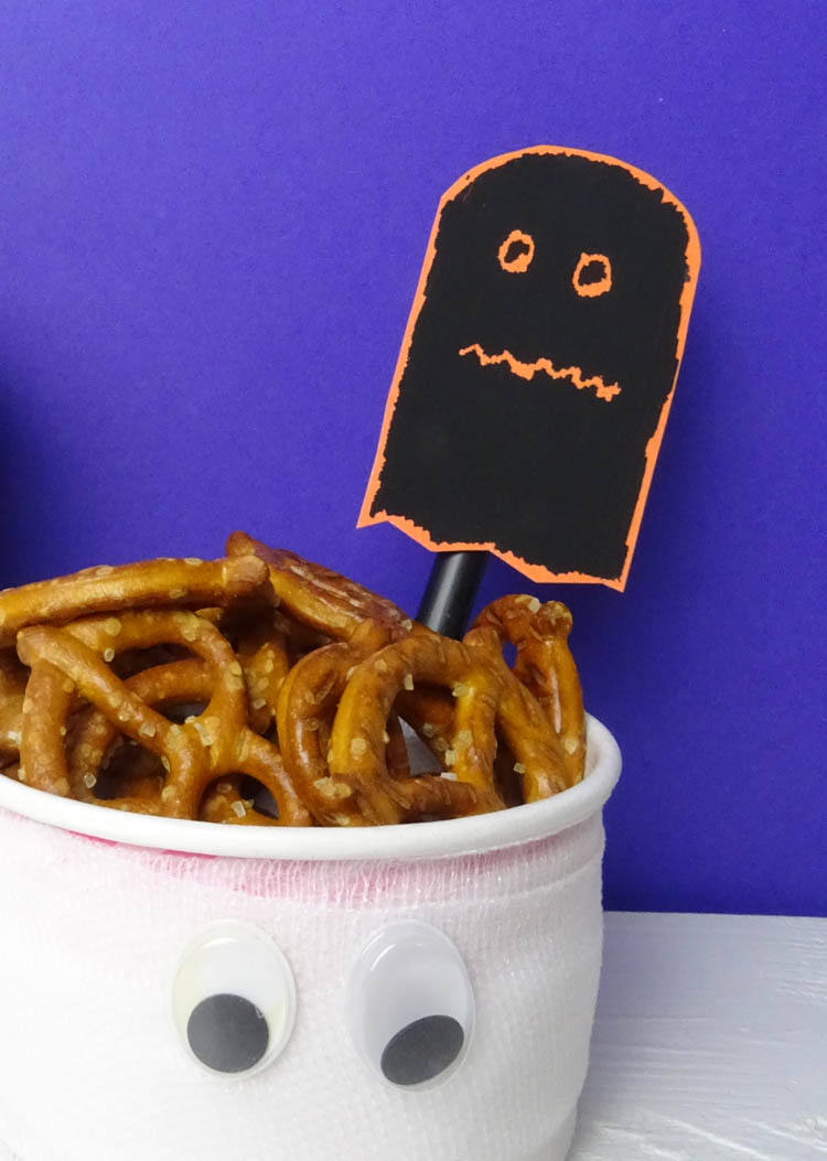 Halloween Party Kratzbild selber machen