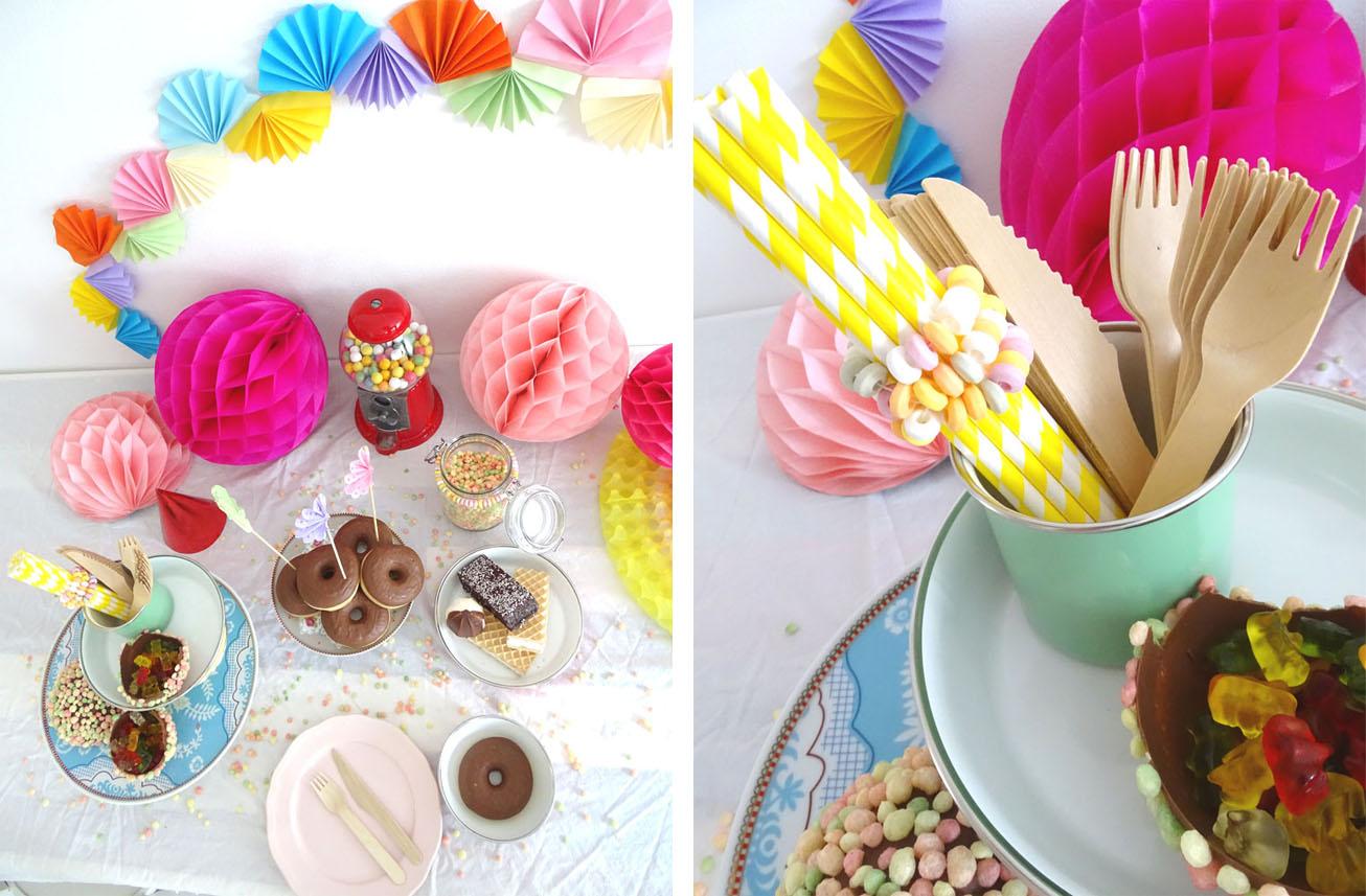Süßigkeiten Tisch DIY