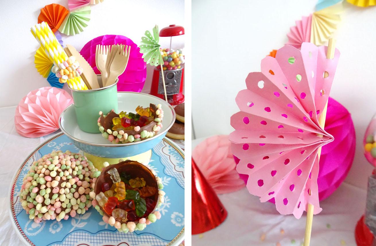 Sweettable Süsigkeiten Tische selber machen geburtstag