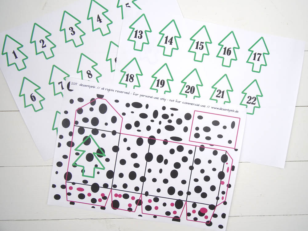 Adventskalender Boxen Freeprints