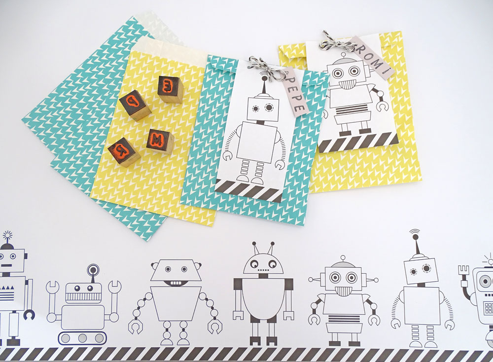 Tolle Roboter DIY Ideen für deine Geburtstags Party basteln