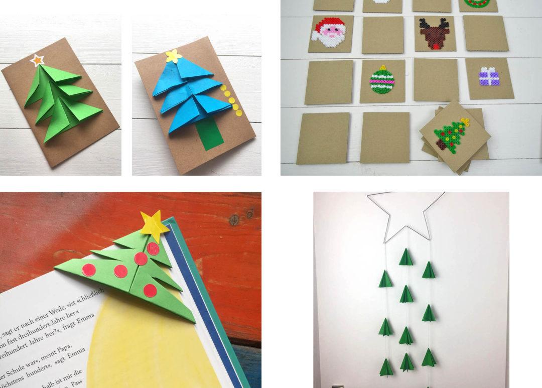 Bastelideen Weihnachtszeit Bügelperlen Memory