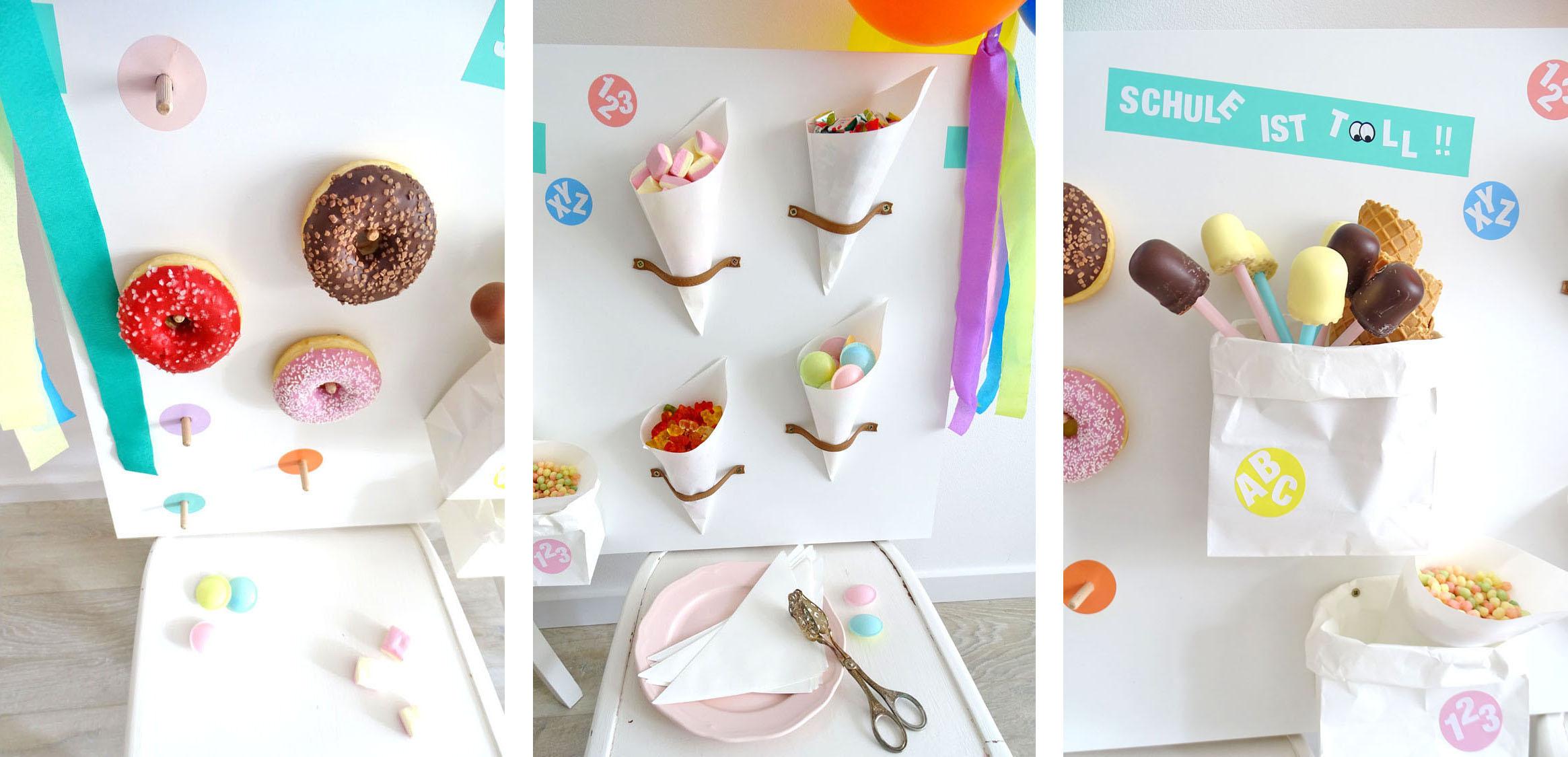 Anleitung Candy Wall Einschulung