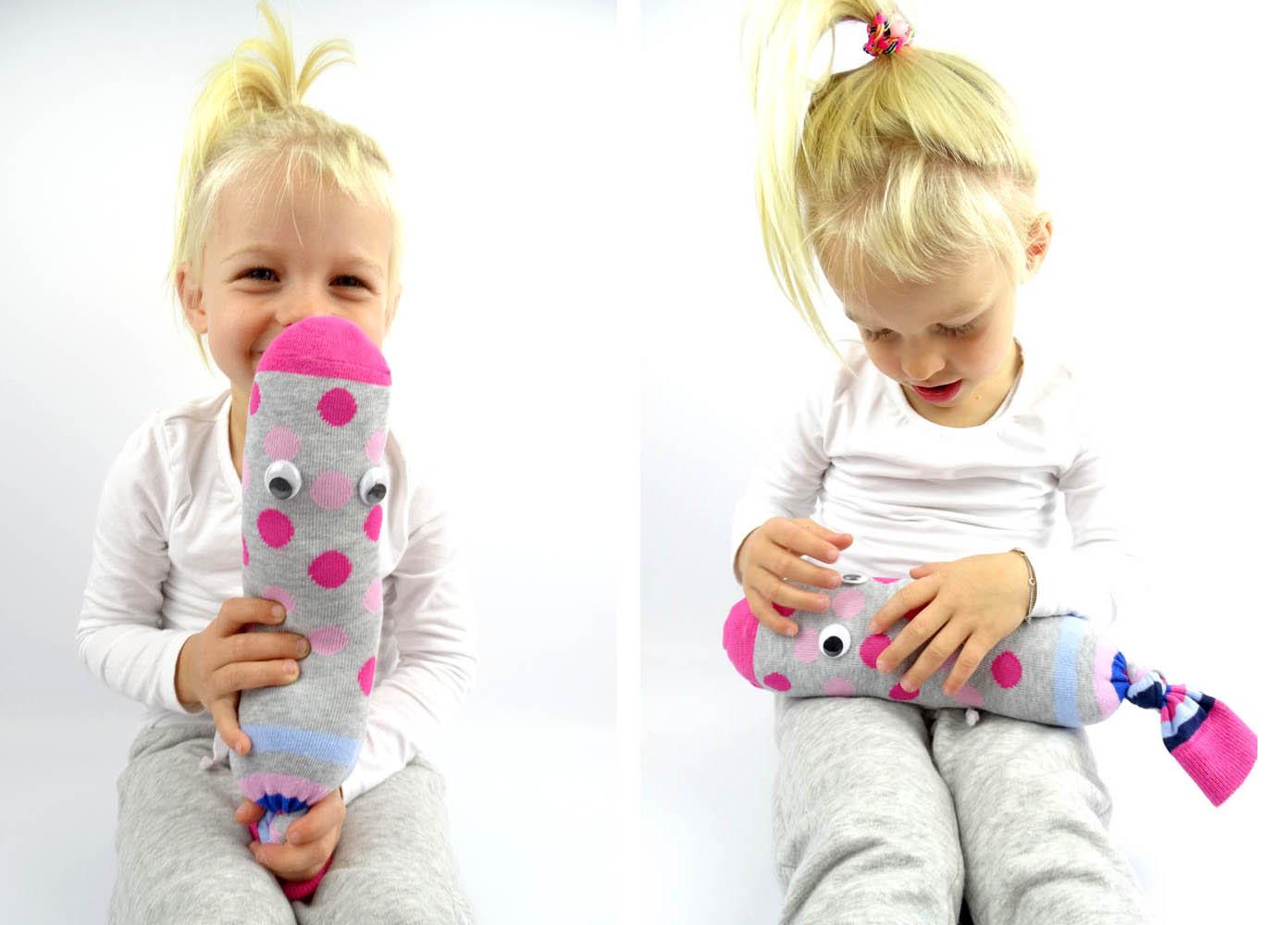 DIY Idee Sockenmonster