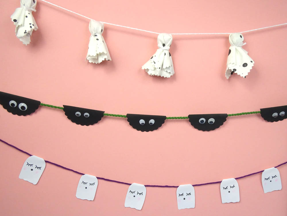 DIY Idee Halloween Girlande