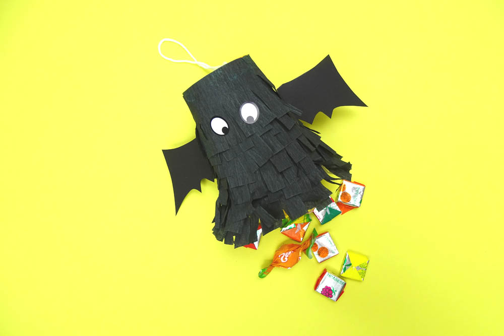 DIY Idee Fledermaus Mini Pinata