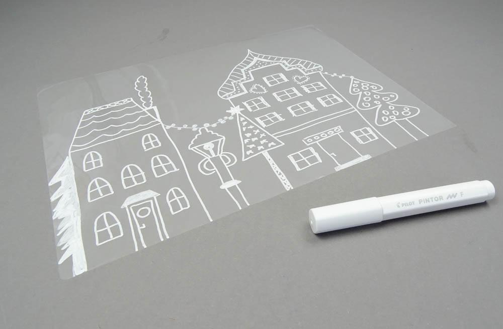 Fensterbilder Ganz Einfach Selber Machen Dezentpink Diy Ideen