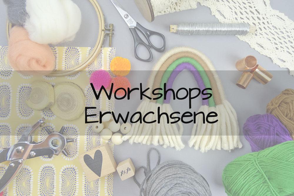 DIY Workshops Erwachsene