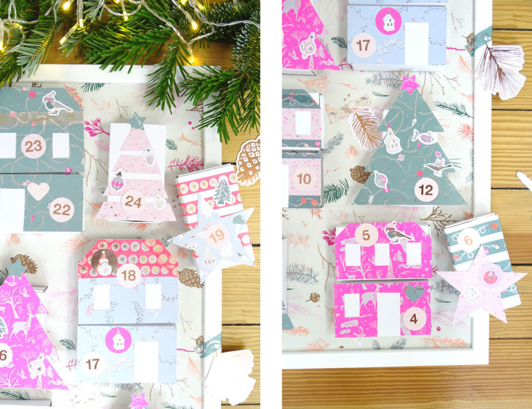 Rico Design Adventskalender Winter Wonderland DIY Kinder