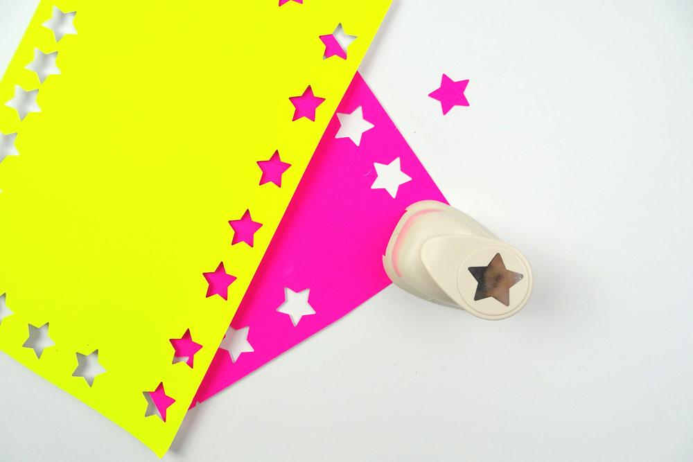 Geschenpapier Upcycling Kartoffeldruck DIY basteln mit Kindern